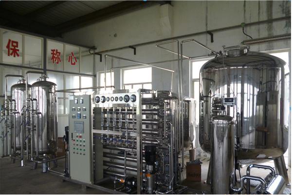 纯化水设备2T现场.png